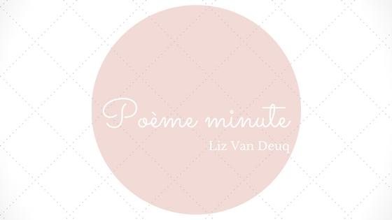 Poème minute pour Luzy (58)
